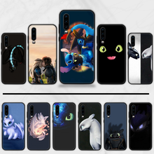 how to train your dragon Black Soft Shell Phone Case Capa For Huawei Y5 Y6 II Y7 Y9 PRIME 2018 2019 NOVA3E P20 PRO P10 Honor 10(China)