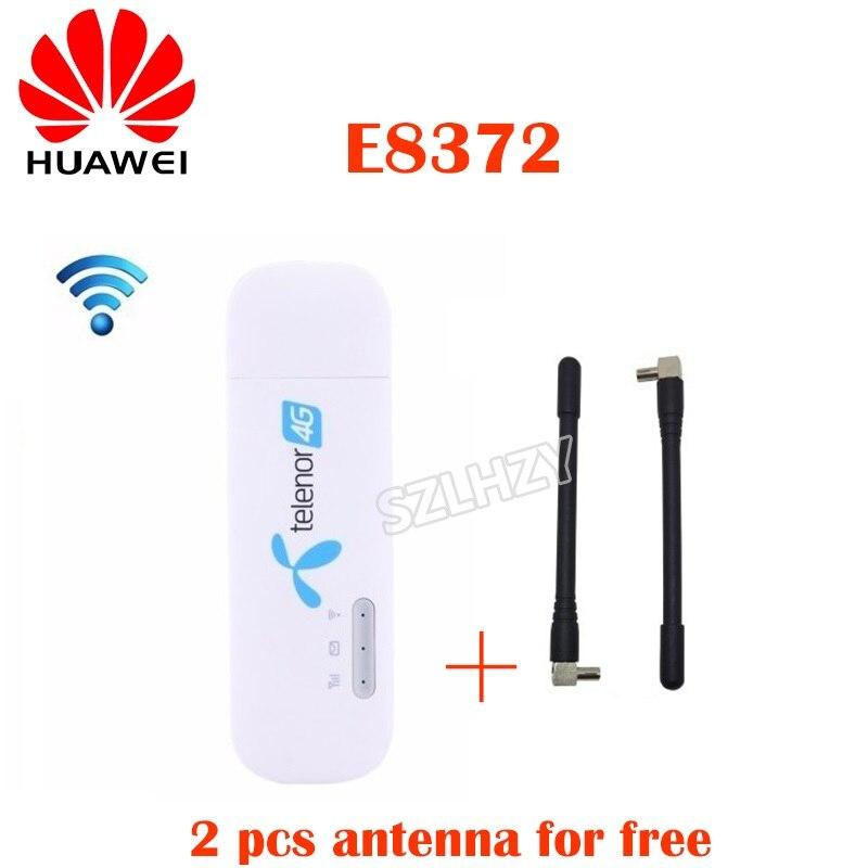 Unlocked Huawei E8372 E8372h-608 E8372h-153 Plus 2pcs Ts9 Antenna 4G LTE USB Dongle 4G Mobile Modem Hotspot PK ZTE MF79/MF79U