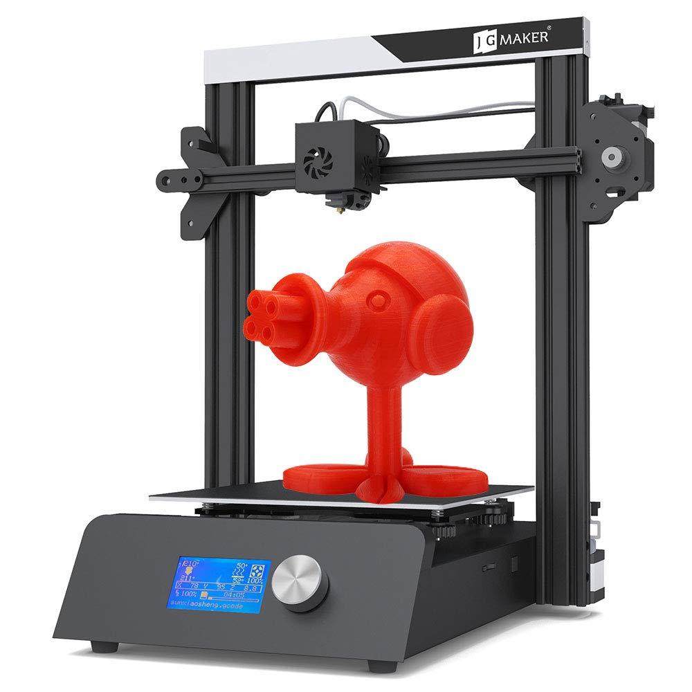 JGAUROR JGMAKER magiczna drukarka 3D zestaw DIY Filament wyczerpanie wykrywania wznowić druk metalowa podstawa drukarki 3D 220x220x250mm