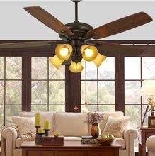 Американский потолочный вентилятор простой светильник в стиле