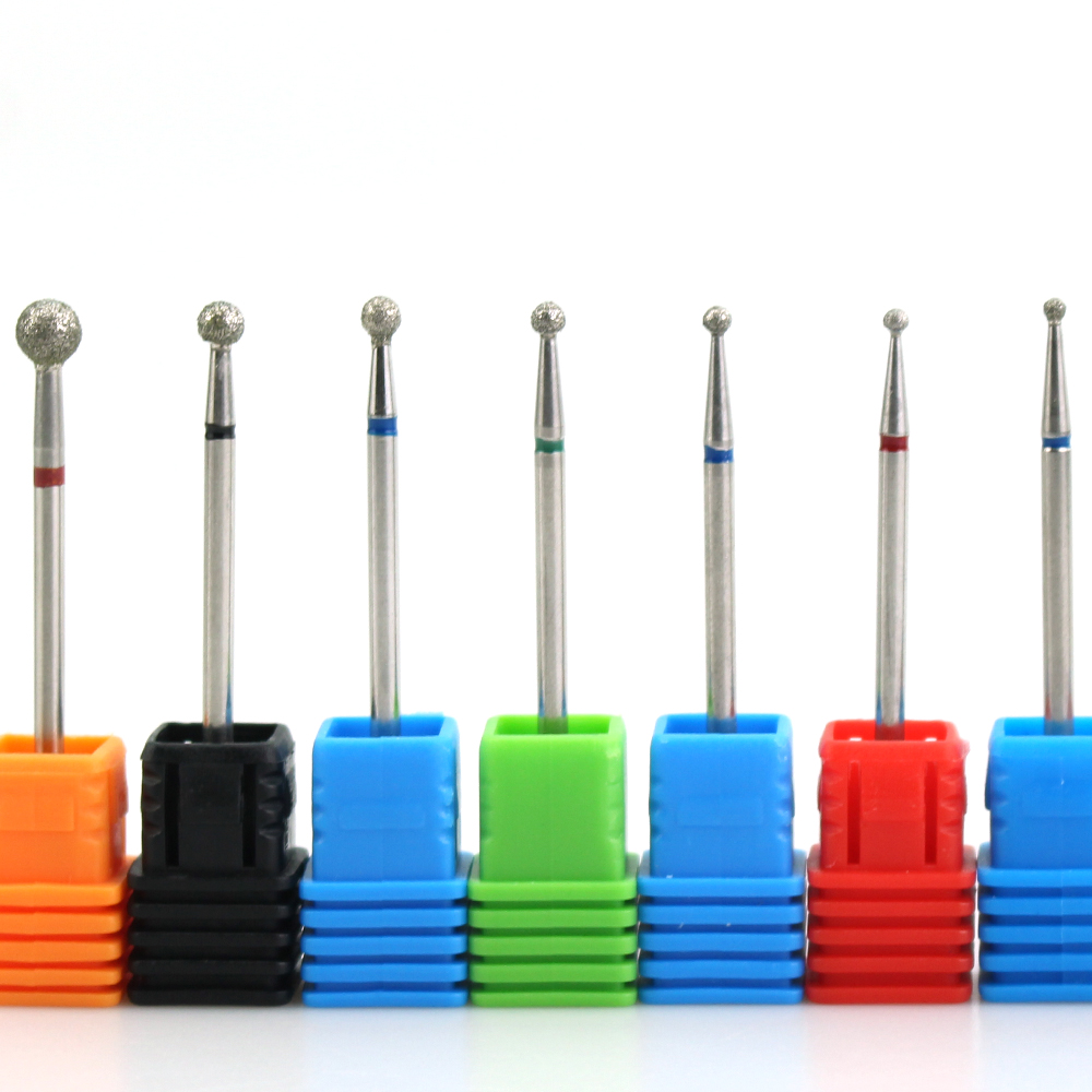 9 Type Diamond Nail Drill Electric Nail Bits File Manicure Pedicure Equipment Milling Cutter Nail Drill Machine Tools Accessory