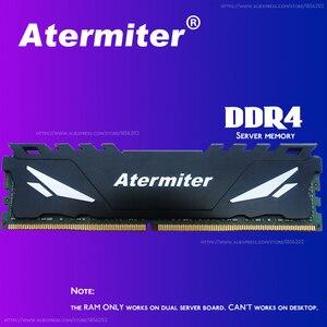 Image 5 - Set di schede madri atermiter X99 D4 con CPU Xeon E5 2650 V3 LGA2011 3 2 pezzi X 16GB = 32GB 2666MHz REG ECC RECC memoria DDR4