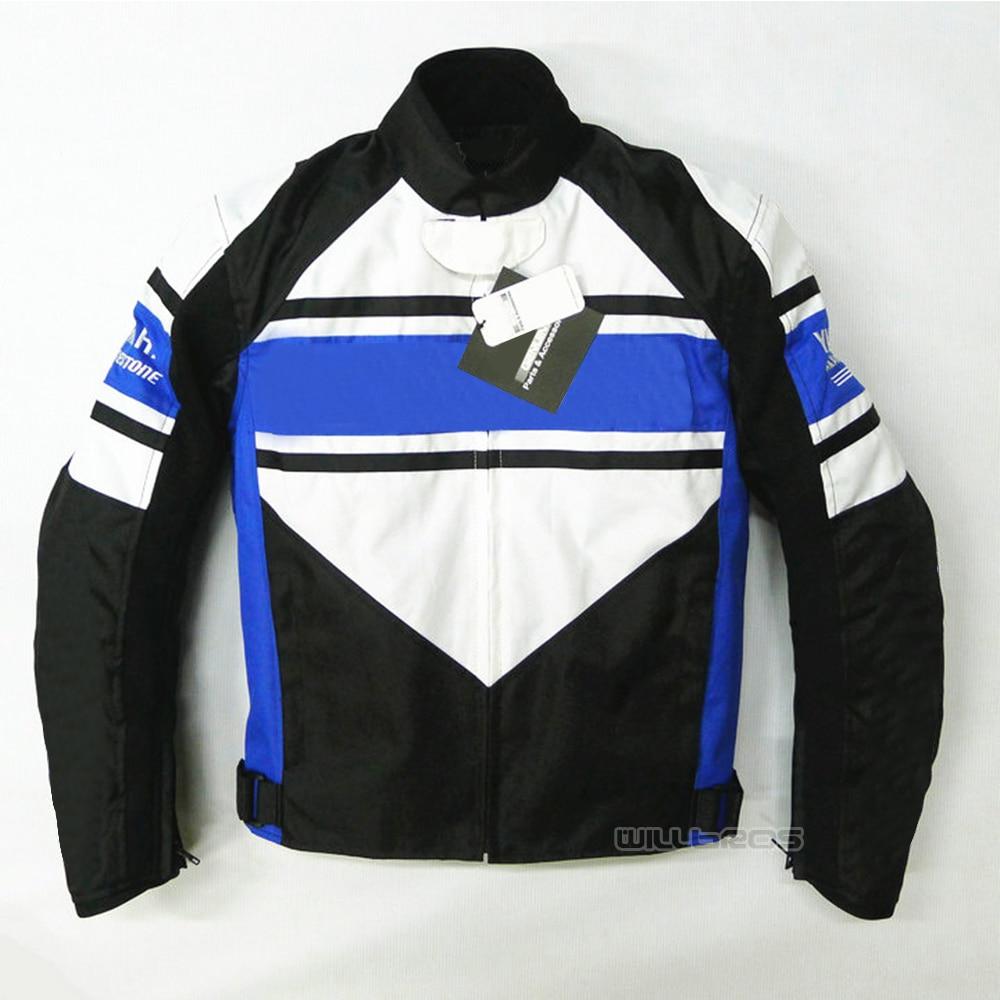 Bleu blanc noir veste Motocross ATV vélo moto montagne vélo vestes avec protecteur