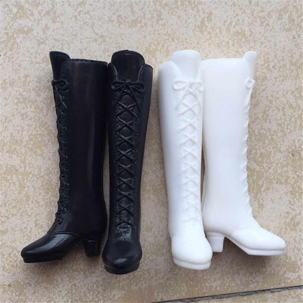 1 par de zapatos de moda para Monster Doll botas largas bonitas accesorios de muñeca enviados al azar gran oferta