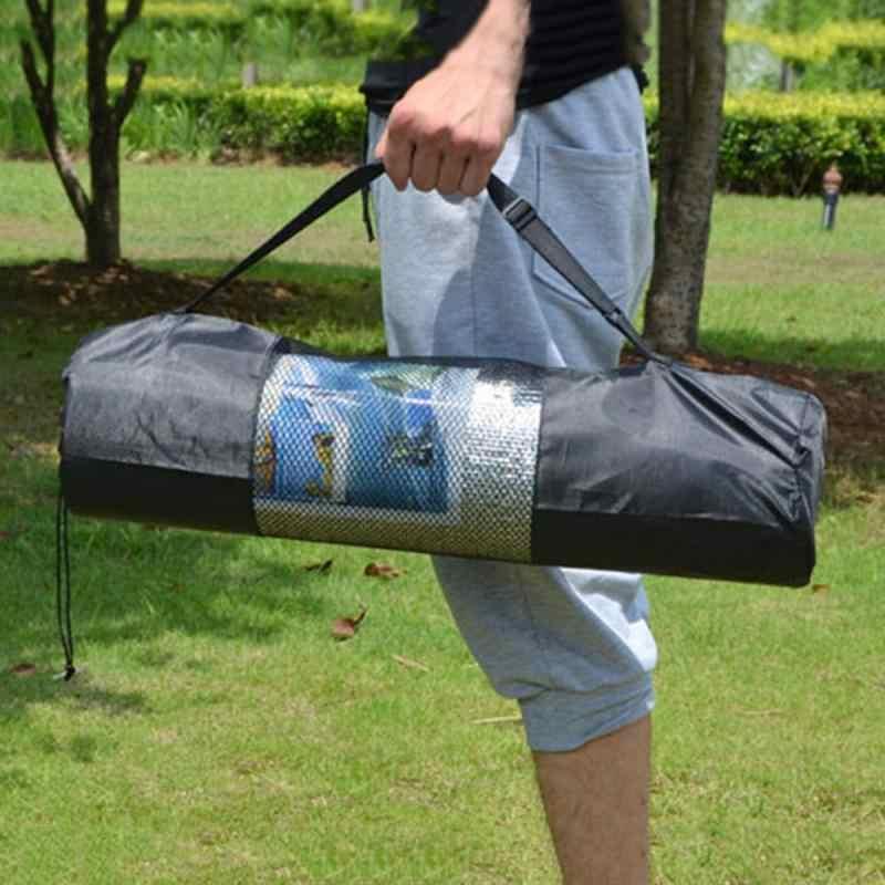Nylon Pilatesyoga Mat Tas Waterdichte Yoga Holder Carry Strap Bag Pocket Sport Gym Fitness Rugzak Duurzaam Yoga Sport Apparatuur