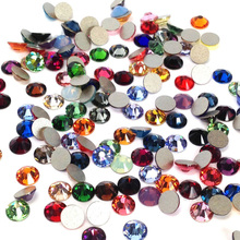 CTPA3bI Multicolor Non Hotfix Crystal Gemstones Decoration Strass Stones Flatback Glass Nail Rhinestones For DIY Clothes mix sizes opal colors crystal glass non hotfix flatback rhinestones strass nail art nails accessoires nail art decoration