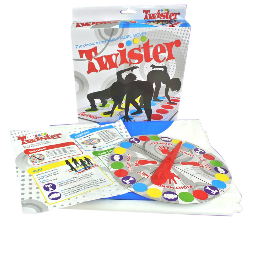 Adult Board Game Body Twist Music Twister Game Props Multiplayer Party Parent-Child Interactive Game Toy