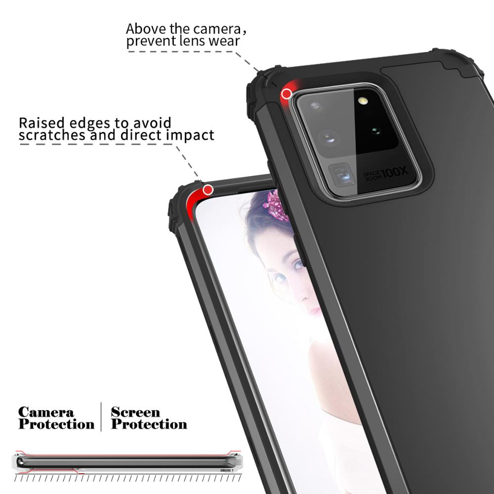 Full-Body Case Cover Samsung Galaxy S20 Plus S20 Ultra