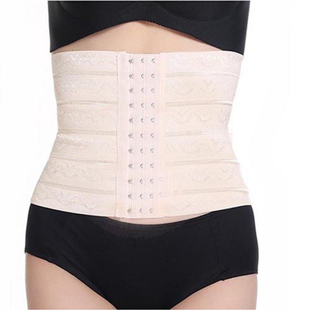 Women Elastic Slim Waist Trainer Body Shaper Belly Slimming Bodybuilding Corset