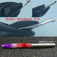 Jinhao 51A Acrylic MeiMei Color Fountain Pen With Bobby Handmade Grind Nib