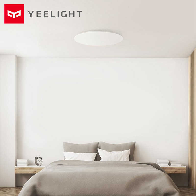 Yeelight JIAOYUE 480 LED Intelligent plafonnier avec télécommande éclairage Intelligent 200-240V 480x480x80mm Support application Mijia