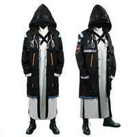 Game Arknights doctor cosplay costume Full suit Of Men's and Women's Clothes