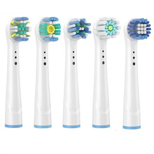 Brush Head nozzles for Braun Oral B Replacement Toothbrush Head Sensitive Clean Sensi Ultrathin Gum Care Brush Head for oralb