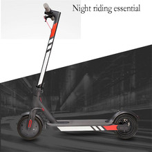 Electric Scooter Reflective Sticker Warning Strip Light for Xiaomi scooter M365 Night Safety Cycling Acce