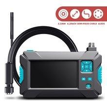 3,9mm 5,5mm 8mm Inspektion Endoskop kamera HD1080P 4,3 zoll Bildschirm IP67 Wasserdicht Industrielle Endoscop