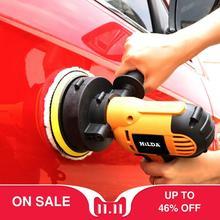 Máquina pulidora de coche eléctrica de 220V máquina pulidora automática de velocidad ajustable lijadora de herramientas de encerado accesorios de coche