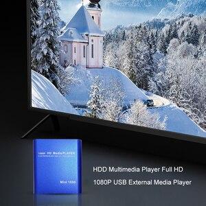 Image 2 - Full HD 1080P HDD Multimedia Player USB External Media Player With HDMI SD Media TV Box Support MKV H.264 RMVB WMV HDD Player 21