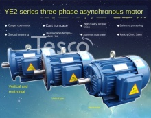Three-phase asynchronous motor Y2 series motor new copper national standard Y132S-4 pole 5.5KW kilowatt copper core 380v three phase asynchronous motor y2 series motor new copper national standard y132s 4 pole 5 5kw kilowatt copper core 380v