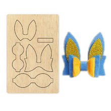 bowknot diy Wooden die Scrapbooking 2020 New Cutting Dies fit common machine with cover pad