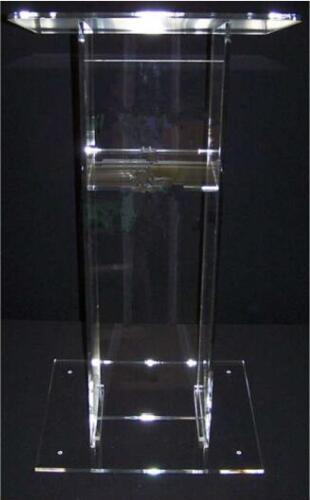 Free Shipping Modern Customized Acrylic Desktop Lectern  Acrylic Church Pulpit Church Lectern Stand