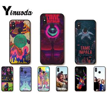 Yinuoda Tame Impala Black TPU Soft Phone Case for Redmi note8Pro note5 note7 note 8t 9 note9s note9pro Xiaomi 5 9t 9 max2 image