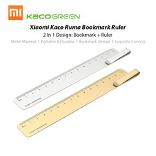 Hot Xiaomi Mijia Kaco Metal Rule 15cm Straight Sewing Foot Stainless Steel Tool Precision for Office Travel(China)