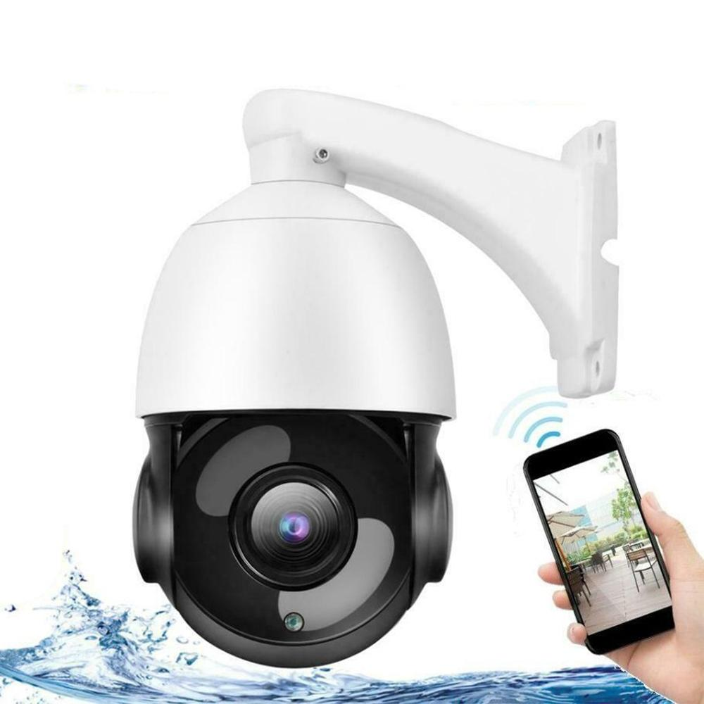 Outdoor Wifi Ip Camera 30X Zoom Optical Cctv Ptz Hd 1080P Dome Security Ir Camera Safety Portable Durable - 5