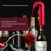 Fast Electronic wine aerator decanters quick oxygenation intelligent electric decanter red wine accessories home bar tools