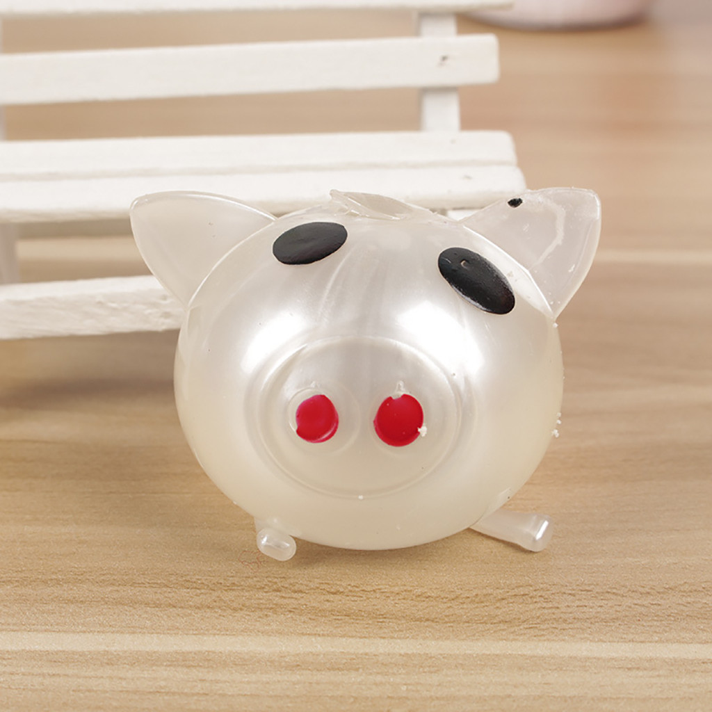 Anti Stress 1Pc Jello Pig Cute Anti Stress Splat Water Pig Ball Vent Toy Venting Sticky Pig Squeeze Kawaii Squishy