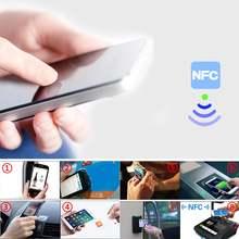 10 шт бесконтактные ic карты nfc ntag 215 тег смарт чип rfid