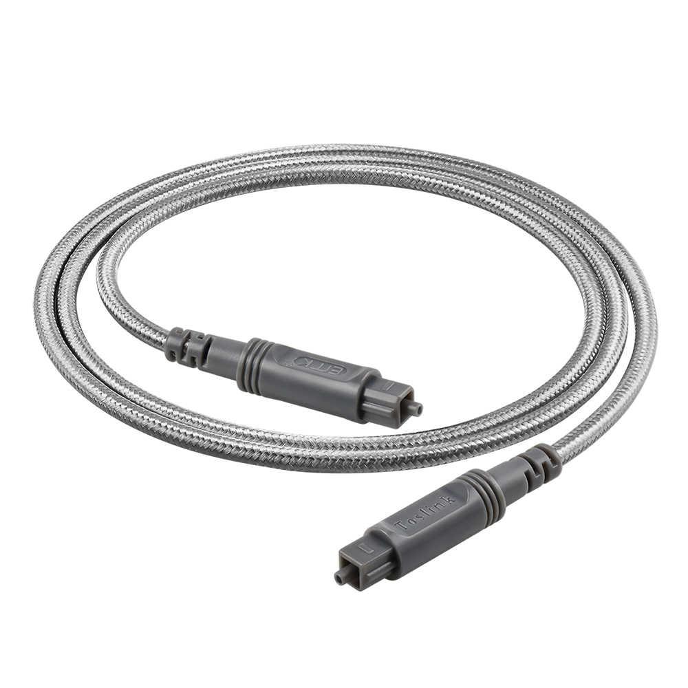 Cavo audio ottico digitale Toslink Sound Bar TV da 1,8 m con Toslink in fibra ottica a mini connettori S//PDIF digitali Toslink GTOTd