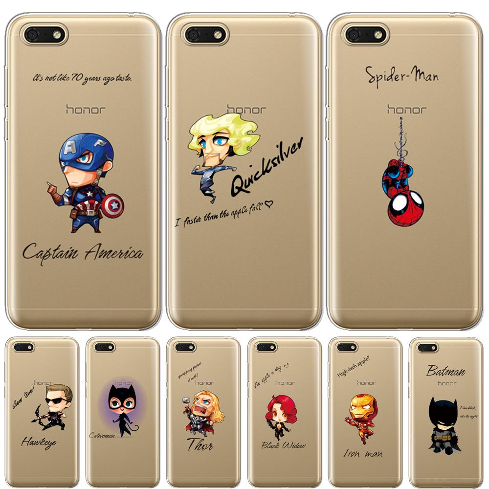 Marvel hero case For Huawei P30 Pro Silicone TPU Phone Back Cover On Huawei P30 Pro VOG-L29 ELE-L29 P30 Lite Case cover