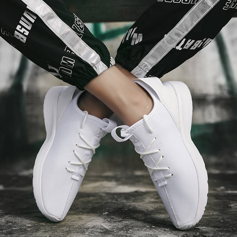 New Mesh Sneakers Shoes Men Hot Style Casual Men's Shoes Breathable Leisure Fashion White Tenis Masculino Plus Size Shoe 2020