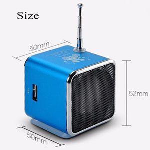 Image 5 - TD V26 Mini Speaker Portable Micro Sd Tf Card Usb Disk Stereo Voor Dvd Laptop