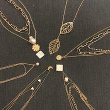 Luokey Gold Layered Pearl…