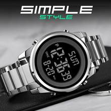 Skmei orologi da uomo digitali moda LED uomo orologio da polso digitale orologio da uomo ora per uomo Reloj Hombre orologio elettronico 1611