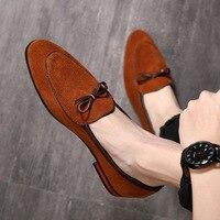 QWEDF/Новинка; модные кожаные мужские модельные туфли; вечерние свадебные туфли; повседневные офисные туфли; замшевые туфли; Chaussures Hommes D8-63