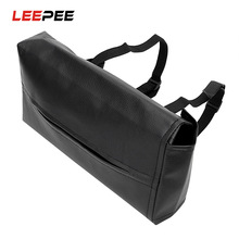 LEEPEE Car Container Tissue Box Leather Napkins Holder Car Interior Accessories