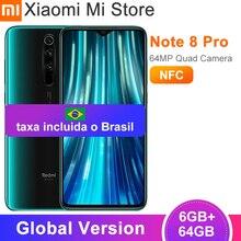 Глобальная версия Xiaomi Redmi Note 8 Pro 6 ГБ 64 Гб Смартфон 6,53