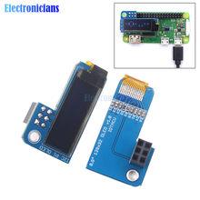 Pieled 0.91 cala OLED 128x32 I2C IIC SSD1306 niebieski moduł wyświetlacza OLED dla RPI Raspberry Pi 1, B +, Pi 2, Pi 3 i Pi Zero