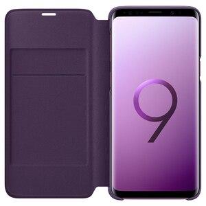 Image 4 - Chính Hãng SAMSUNG Bao Da LED Flip Cover Bao Da LED View Cover Etui Dành Cho Samsung Galaxy SAMSUNG Galaxy S9 G9600 S9 + S9 plus S9Plus G9650