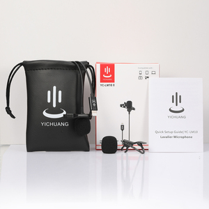 Image 5 - YC LM10 II Mini Di Động Microphone Condenser Kẹp Ve Áo Lavalier Mic Có Dây Mikrofo/Microfon Cho iPhone X 8 7 CANON