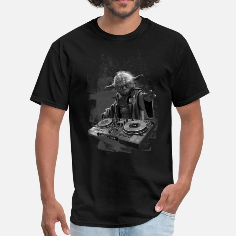 Kids Boys Girls DJ YODA T-Shirt SCREEN PRINTED star trooper music storm design