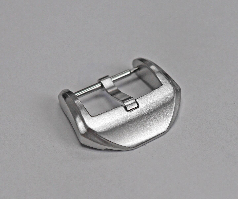 para correias língua fivela totalmente escovado 20 mm 3.0 com barras de mola