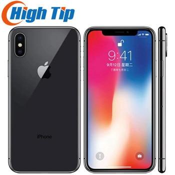 "Original Unlock Apple iPhone X Face ID 64GB/256GB ROM iOS A11 5.8"" 3GB RAM 12MP Hexa Core Dual Camera 4G LTE USED Mobile Phone 1"