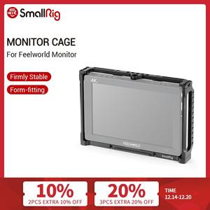 Image 1 - SmallRig 7 Inch Monitor Cage for Feelworld T7 703 703S and F7S Monitor Protective Cage With Nato Rail Threading Holes   2233