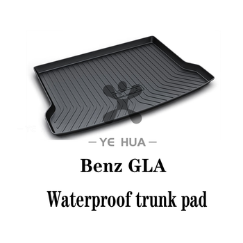 цена на Mercedes-Benz GLA 14-19 Black Heavy Duty Cargo Floor Mat-All Weather Trunk pad Protection, Trunk mat Durable HD TPO Fit For