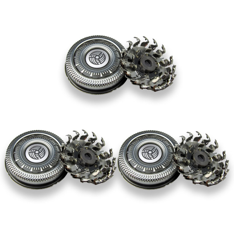 3pcs  Shaver Replacement Heads For Philips SH90 Series 9000 S7000 S8000 S9031 RQ12+ S7510 S7310 S7370 S9511 Shaver Blade
