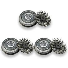 3 шт., сменные головки для бритвы Philips SH90 Series 9000 S7000 S8000 S9031 RQ12 + S7510 S7310 S7370 S9511