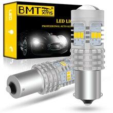 Bmtxms Canbus P21W 1156 BA15S Auto Led Lampen 6000K Wit Voor Seat Leon 1 2 3 MK1 MK2 MK3 1 M 1P 5F St Drl Back-Up Reverse Lights